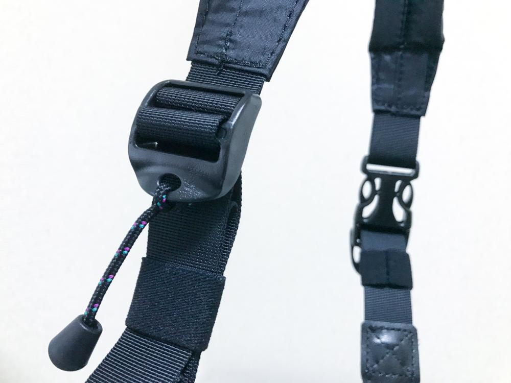 Ninja Strapの長さ調節部分