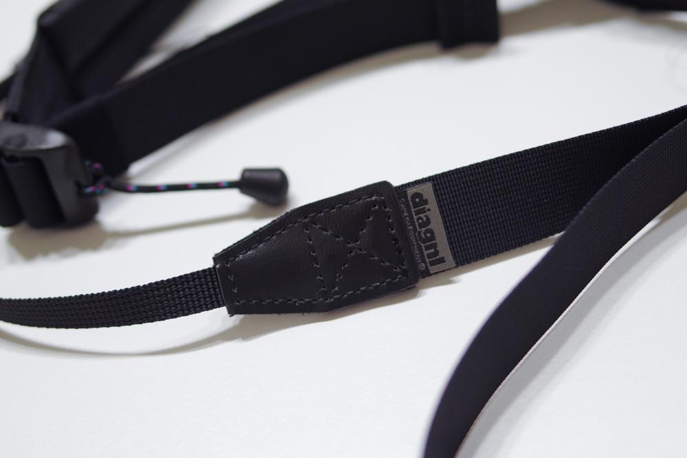 Ninja Strap With Pad ロゴ部分