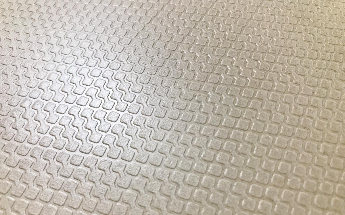 Rice Wareまな板表面のエンボス加工