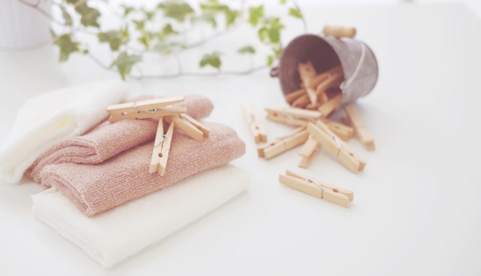 洗濯の回数、頻度を減らしたいなら、家の中から、「洗うもの」を減らすのが一番