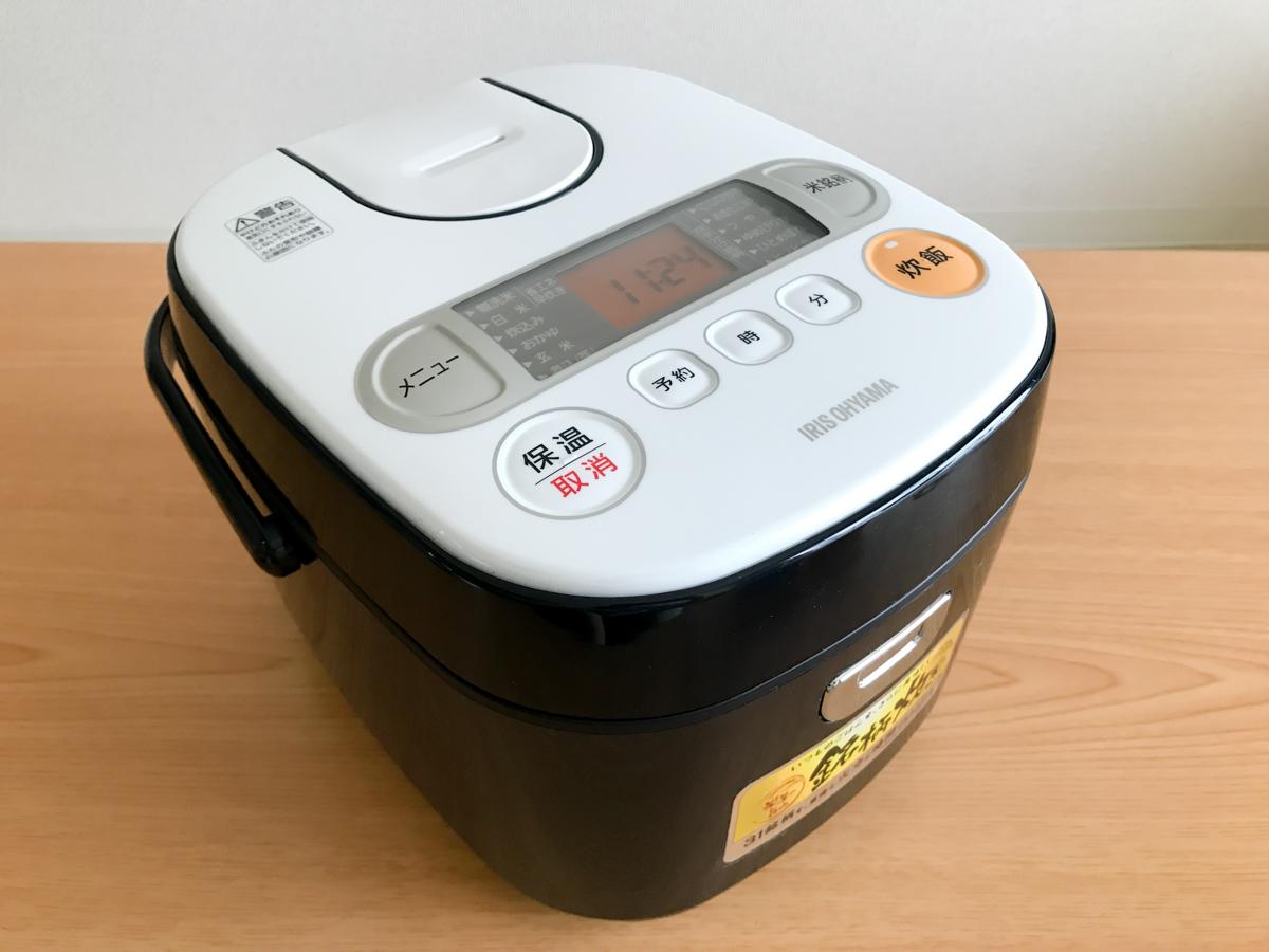 アイリスオーヤマ「米屋の旨み 銘柄炊き ジャー炊飯器」