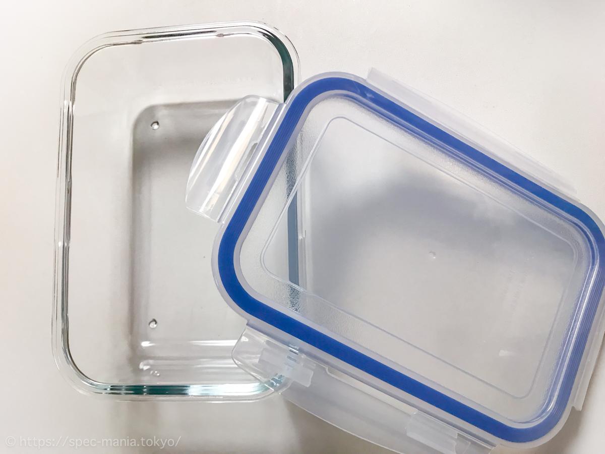 ニトリの耐熱ガラス保存容器