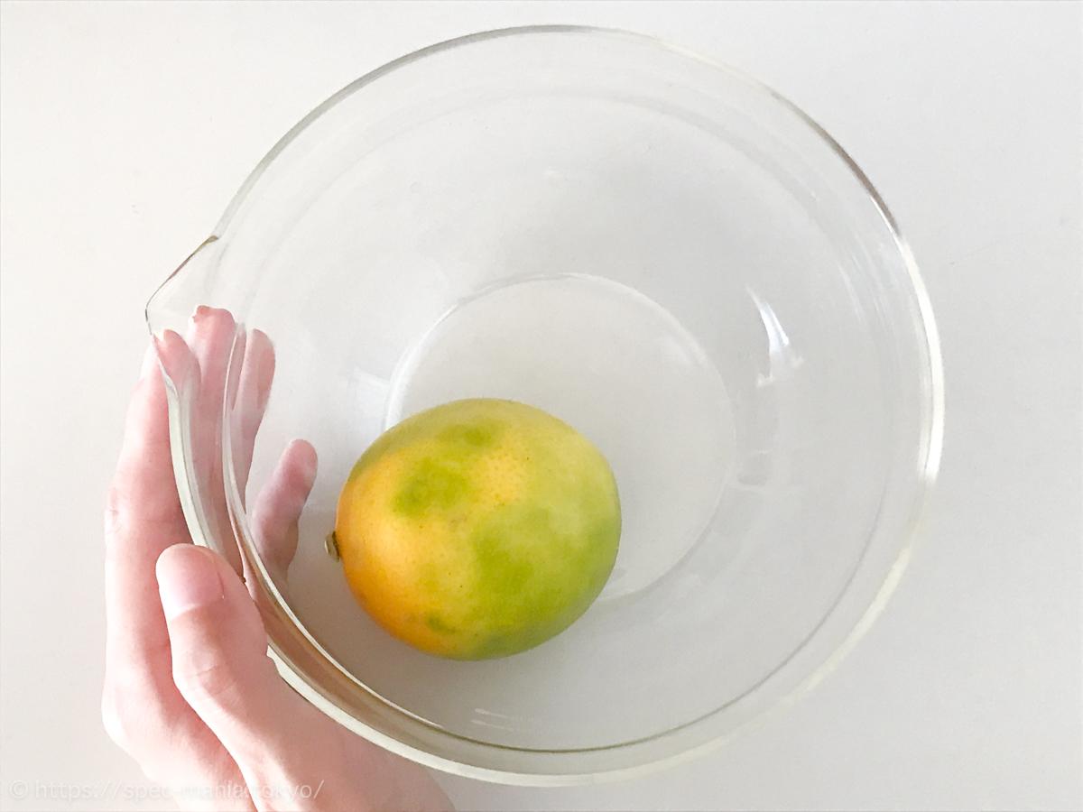 一番大きいLサイズは、ジャガイモをチンしたり、ブロッコリーをチンしたりするのにもピッタリなサイズ