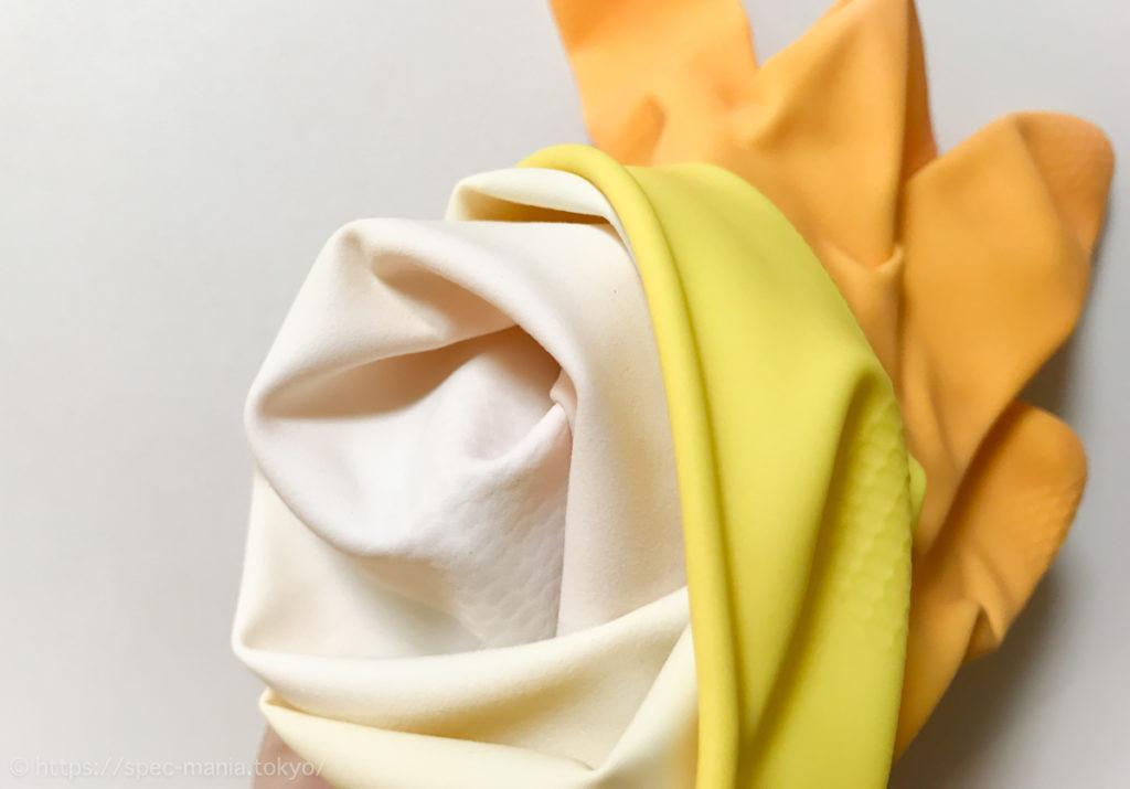 マリーゴールドゴム手袋の内側素材