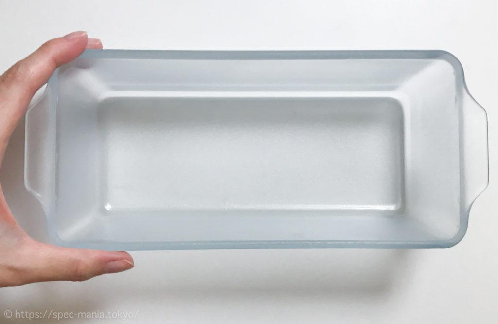 セラベイクのパウンドケーキ型のサイズ感