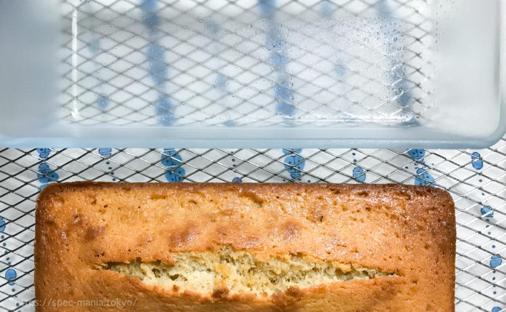 セラベイクのパウンドケーキ型に生地が一切つかない